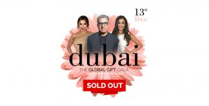 Global Gift Gala Dubai 2018 Sold Out