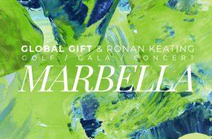 Global Gift & Ronan Keating - Golf / Gala / Concert - Marbella - 3 Mayo