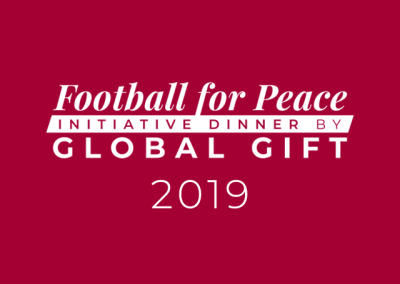 Football for Peace initiative dinner by Global Gift