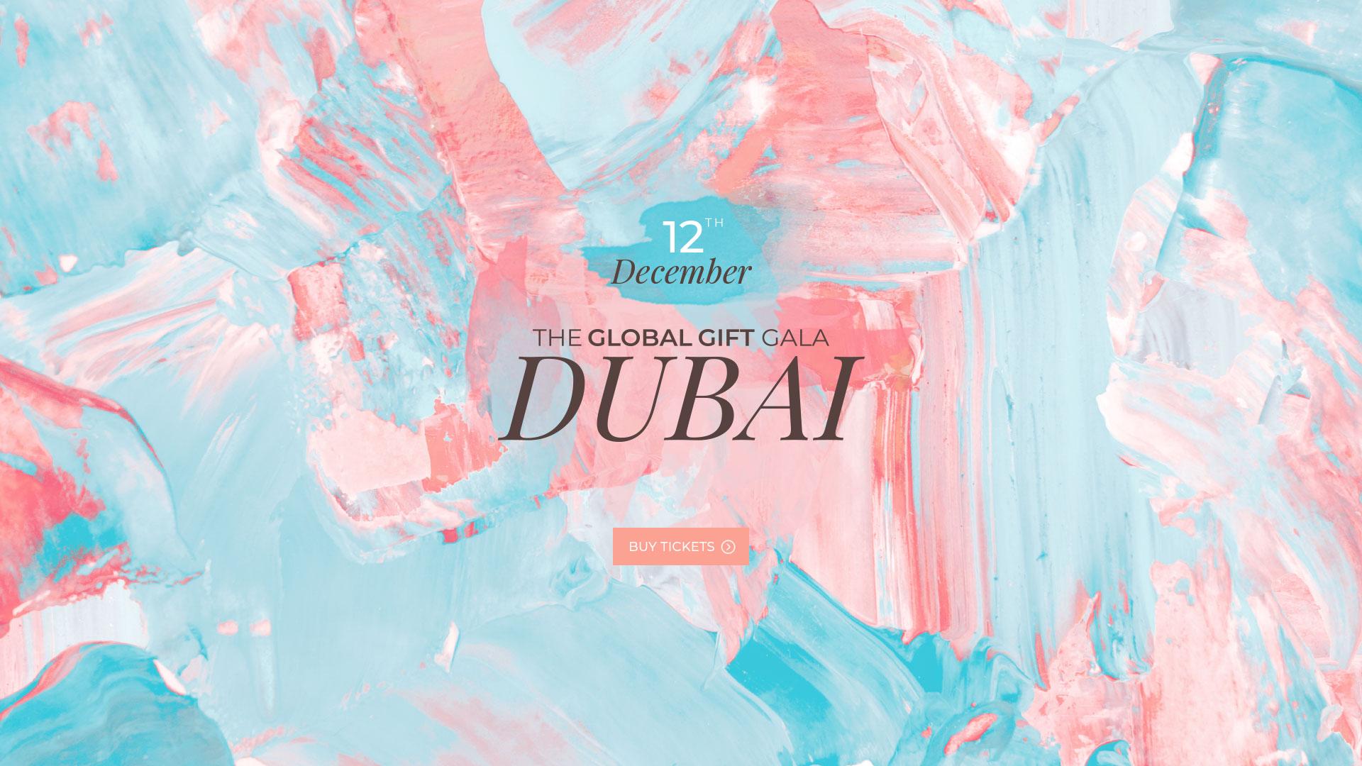 The Global Gift Gala Dubai 2019