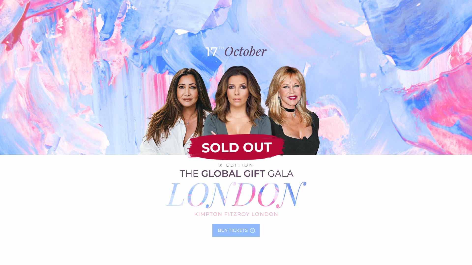The Global Gift Gala London 2019