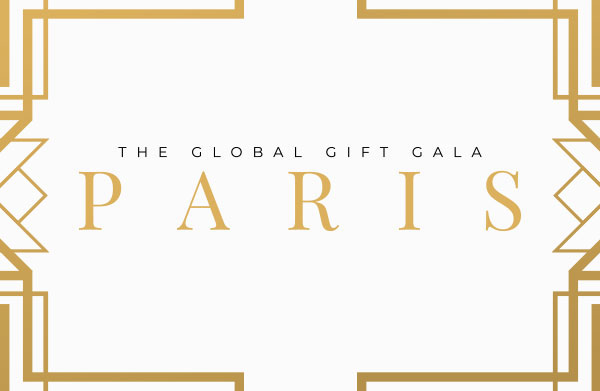 The Global Gift Gala Paris 2020